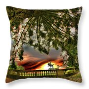 Legion Of Honor Horse Throw Pillow
