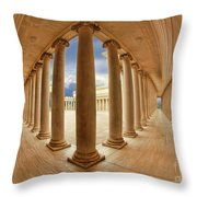 Legion Of Honor Inside Throw Pillow