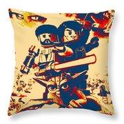 Lego Star Wars IIi The Clone Wars Throw Pillow