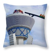 Lego Tower Throw Pillow