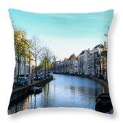 Leiden, Holland Throw Pillow