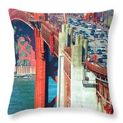 Leisure And Stress Throw Pillow