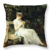 Leisure Moments Throw Pillow