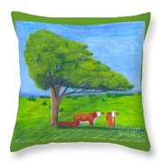 Leisure Time Throw Pillow
