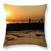 Leisure Weekend Throw Pillow