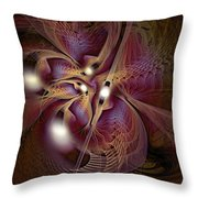 Leitmotif Number Three Throw Pillow