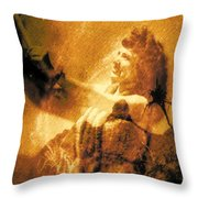 Lele Ka Houpo I Ka Oli Oli Throw Pillow