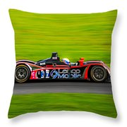 Lemans 37 Throw Pillow