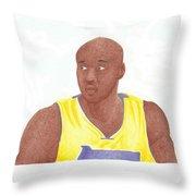 Lemar Odom Throw Pillow