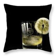Lemon Bacardi  Throw Pillow
