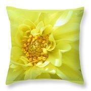 Lemon Dream Throw Pillow