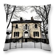 Lemon Hill Mansion - Philadelphia Throw Pillow