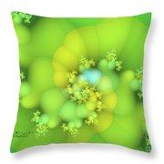 Lemon Juice Throw Pillow