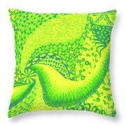 Lemon Lime Throw Pillow