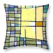 Lemon Squeeze Throw Pillow by Douglas Simonson