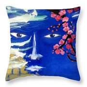 Lemurians Throw Pillow