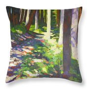 Lena Lake Trail I Throw Pillow