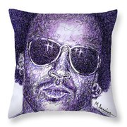 Lenny Kravitz Throw Pillow