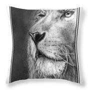 Leo The King Throw Pillow