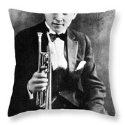 (leon) Bix Beiderbecke Throw Pillow