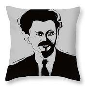 Trotsky Throw Pillow