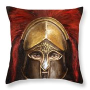 Leonidas Throw Pillow