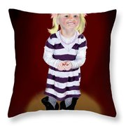 Leonies  Third Anniversary Throw Pillow