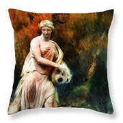 Leonor - Color Version  Throw Pillow