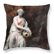Leonor - Textured Version  Throw Pillow