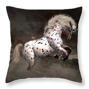 Leopard Appaloosa Shiloh Throw Pillow