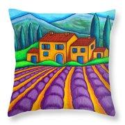 Les Couleurs De Provence Throw Pillow
