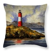 Les Eclaireurs Lighthouse Throw Pillow
