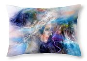 Les Souvenirs Qui Passent. Throw Pillow