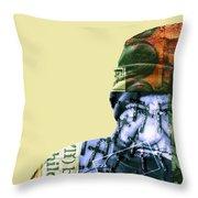 Les Talismans De Temps Throw Pillow
