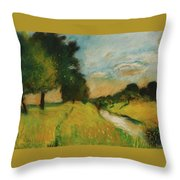 Lesser Ury Throw Pillow