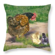 Lesson Time Throw Pillow