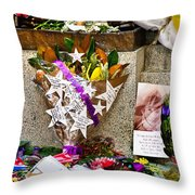 Lest We Forget Messages Throw Pillow