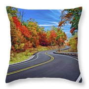 Let It Roll - Pennsylvania Throw Pillow