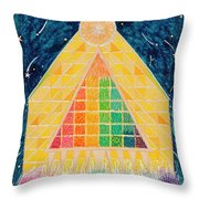 Let Light Stream Forth Throw Pillow