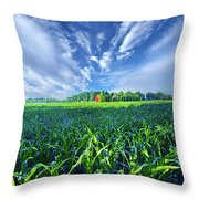 Let Me Never Lose Sight Throw Pillow