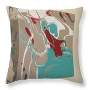 Let Me Point It Out Throw Pillow