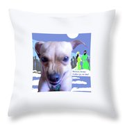 Let My Esther Go Throw Pillow