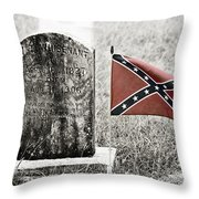 Let Racism Die Throw Pillow