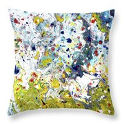 Let The Cream Bring A Little... Throw Pillow
