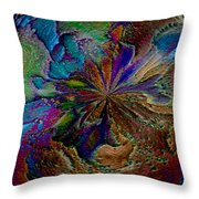 Let The Earth Bring Forth Throw Pillow