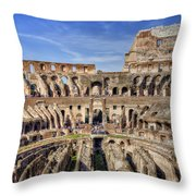 Let The Games Begin Throw Pillow