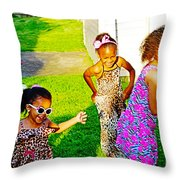 Let The Good Times Roll 1 Throw Pillow