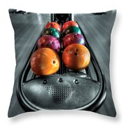 Let The Good Times Roll Throw Pillow by Evelina Kremsdorf