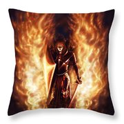 Let The Havens Burn Throw Pillow