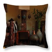 Let The Light In Throw Pillow by Murtaza Humayun Saeed